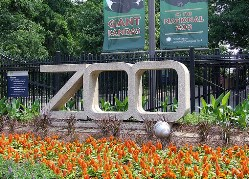 Photo of sign that says ZOO